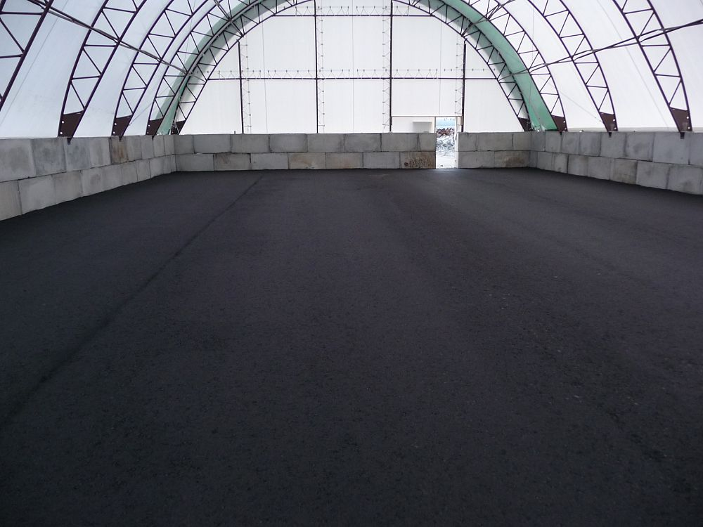 Paved Cold Storage