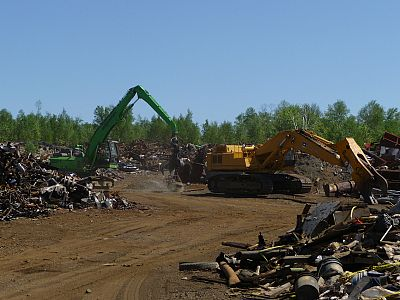 Vale Tailings Landfill Scrap Metal Cleanup